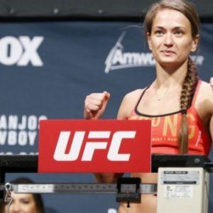 Каролина Ковалькевич о спаррингах с мужчинами перед UFC 238