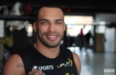Стала известна причина снятия Бруно Сильвы с турнира UFC в Гринвилле