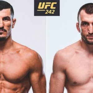 Муслим Салихов и Нордин Талеб встретятся в рамках UFC 242 в Абу-Даби