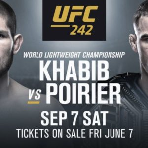Официально. Все билеты на UFC 242 распроданы