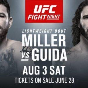 Джим Миллер и Клэй Гуида проведут бой в рамках UFC on ESPN 5