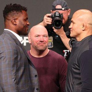 Бойцы MMA поделились прогнозами на бой Фрэнсиса Нганну и Джуниора Дос Сантоса