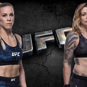 Видео боя Кэтлин Чукагян – Джоанн Колдервуд UFC 238