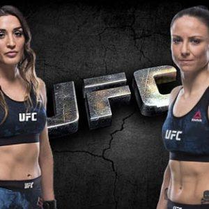 Видео боя Татьяна Суарес – Нина Ансарофф UFC 238