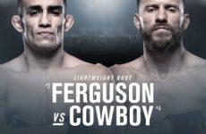 Видео боя Тони Фергюсон – Дональд Серроне UFC 238