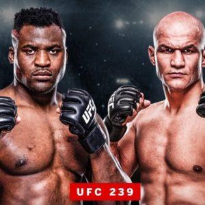 Видео боя Фрэнсис Нганну — Джуниор Дос Сантос UFC on ESPN 3