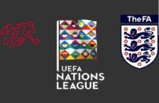 Прямая трансляция Швейцария — Англия. Лига Наций. 09.06.19