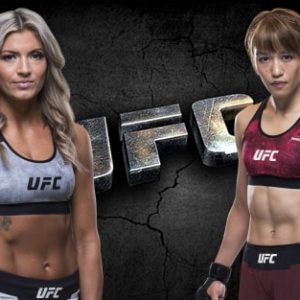 Видео боя Эшли Йодер — Сиюри Кондо UFC Fight Night 154