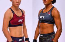 Видео боя Ян Сяонянь– Анджела Хилл UFC 238