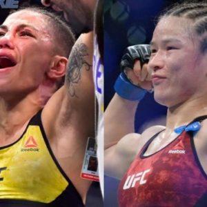 Джессика Андраде и Вейли Жанг проведут бой в Китае