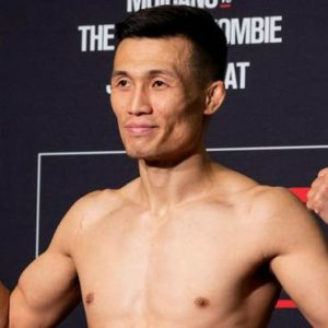 Результаты взвешивания UFC Fight Night 154: Ренато Мойкано — Чен Сон Джон «Корейский Зомби»