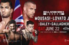 Прямая трансляция Bellator 223: Гегард Мусаси — Рафаэль Ловато