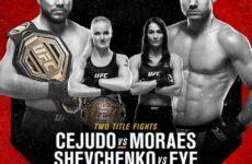 Результаты турнира UFC 238: Генри Сехудо — Марлон Мораес, Валентина Шевченко — Джессика Ай