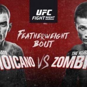 Файткард турнира UFC Fight Night 154: Ренато Мойкано – Чен Сон Джон «Корейский Зомби»