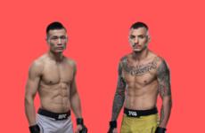 Прямая трансляция UFC Fight Night 154: Ренато Мойкано — Чен Сон Джон «Корейский Зомби»