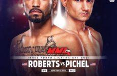 Видео боя Рузвельт Робертс — Винс Пичел UFC on ESPN 3