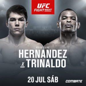 Видео боя Александр Эрнандес — Франсиско Триналдо UFC on ESPN 4