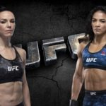 Видео боя Алексис Дэвис – Вивиане Араухо UFC 240
