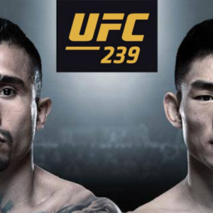 Видео боя Алехандро Перес — Сонг Ядонг UFC 239