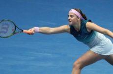 Прямая трансляция Каролин Гарсия — Елена Остапенко. WTA Premier 5. Торонто. 06.08.19