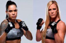 Видео боя Аманда Нуньес — Холли Холм UFC 239