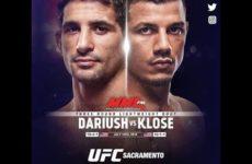 Видео боя Бенеил Дариуш — Драккар Клозе UFC on ESPN+ 13