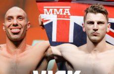 Видео боя Джеймс Вик — Дэн Хукер UFC on ESPN 4