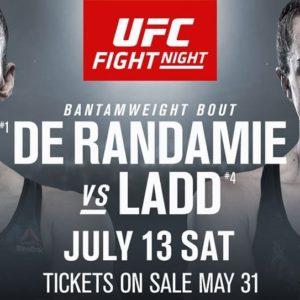 Видео боя Жермейн Де Рандами — Аспен Лэдд UFC on ESPN+ 13