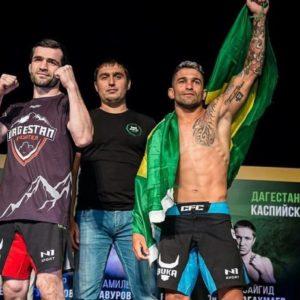 Тимур Валиев победил бразильца Да Силву на GFC 14