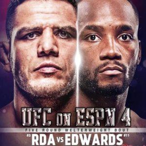 Коэффициенты букмекеров на турнир UFC on ESPN 4