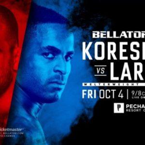 Андрей Корешков и Лоренцо Ларкин возглавят турнир Bellator 229