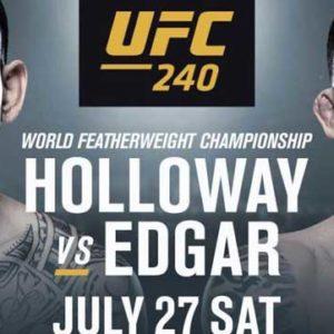 Видео боя Макс Холлоуэй – Фрэнки Эдгар UFC 240