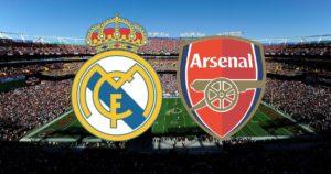 Реал мадрид арсенал смотреть матч