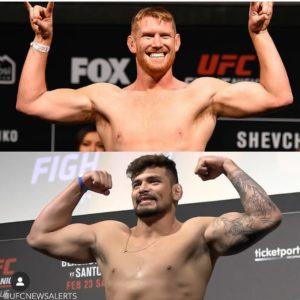 Видео боя Сэм Алви — Клидсон Абреу UFC on ESPN 4