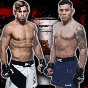 Видео боя Юрайа Фэйбер — Рики Симон UFC on ESPN+ 13