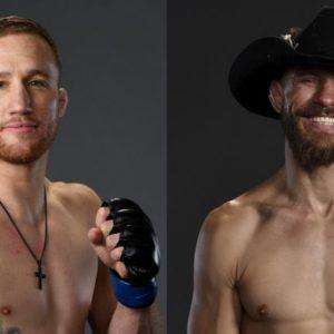 Дональд Серроне и Джатстин Гэтжи проведут бой в главном событии турнира UFC Fight Night 158