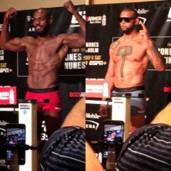 Результаты взвешивания турнира UFC 239: Джон Джонс — Тиаго Сантос, Аманда Нуньес — Холли Холм