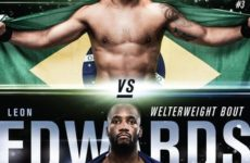 Файткард турнира UFC on ESPN 4: Рафаэль Дос Аньос – Леон Эдвардс, Алексей Олейник – Уолт Харрис