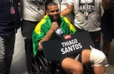 Тиаго Сантос: «Доктор сказал, что люди даже не могут ходить с такими травмами»