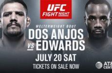Прогноз на бой Рафаэль Дос Аньос — Леон Эдвардс на UFC on ESPN 4