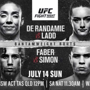 Результаты турнира UFC on ESPN+ 13: Жермейн Де Рандами - Аспен Лэдд, Юрайа Фэйбер - Рики Симон
