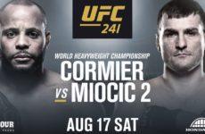Видео боя Даниэль Кормье — Стипе Миочич UFC 241