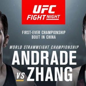 Видео боя Джессика Андраде — Вейли Жанг UFC Fight Night 157