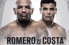 Видео боя Йоэль Ромеро — Пауло Коста UFC 241