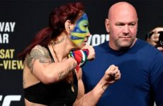 Тайрон Вудли о возможном возвращении Крис Сайборг в UFC