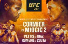 Файткард турнира UFC 241: Даниэль Кормье — Стипе Миочич 2