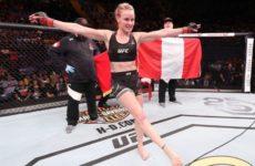 Валентина Шевченко неожиданным способом отпраздновала победу на турнире UFC