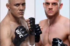 Исмаил Наурдиев и Сияр Бахадурзада встретятся на турнире UFC в Копенгагене
