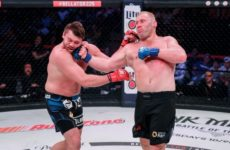 Сергей Харитонов одержал победу, нокаутируя Мэтта Митриона на Bellator 225