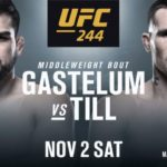 Келвин Гастелум - Даррен Тилл на UFC 244